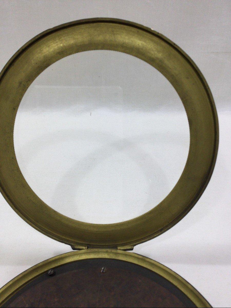 Cadre Photo En Bronze Napoléon III-photo-3