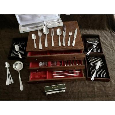 Cutlery Set 140 Pieces Christofle Dax
