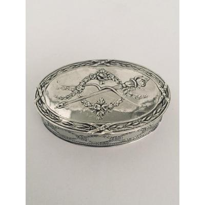 Hénin Et Cie - Silver Pill Box