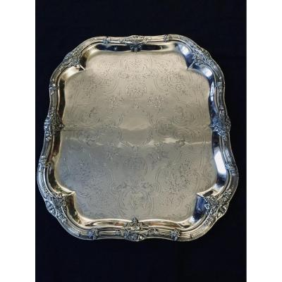 Lined Metal Tray