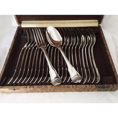Silver Cutlery Shell Model