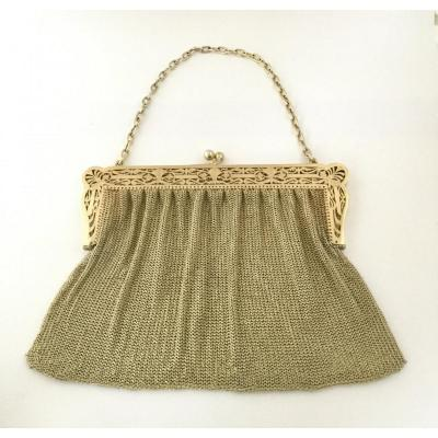 Evening Bag In Vermeil