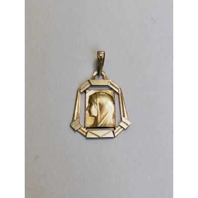 Médaille De La Vierge En Or