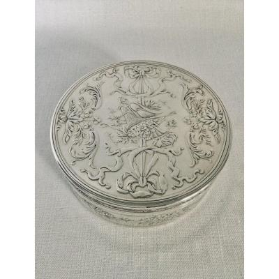 Armand Gross - Box In Sterling Silver