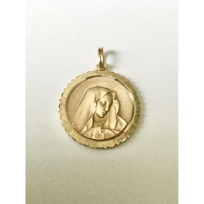 Virgin Gold Medal Emile Dropsy