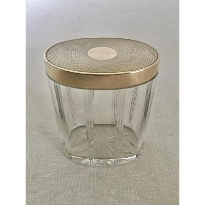 Box In Vermeil And Crystal