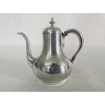 Emile Hugo - Teapot In Sterling Silver