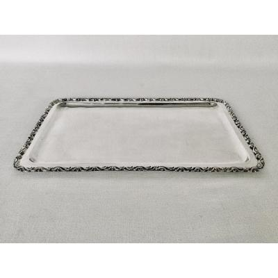 Mail Tray In Sterling Silver