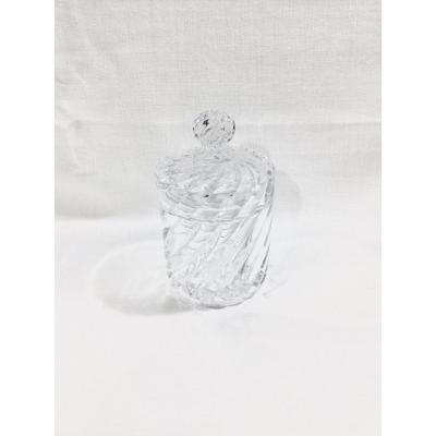 Baccarat - Pot En Cristal Modèle Bambou