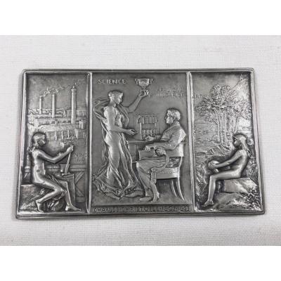 Christofle - Médaille Du Cinquantième Anniversaire