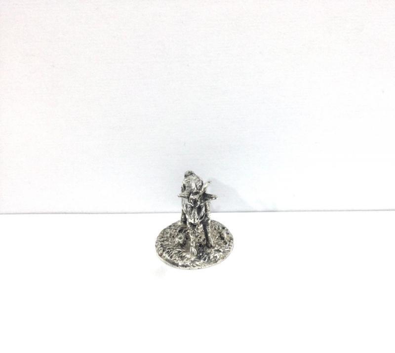 Mascotte Chèvre Bronze Argenté -photo-3