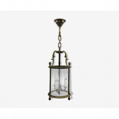 3 Light Bronze Lantern