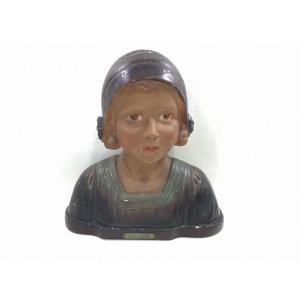 G. Nordi - Buste De Jeune Fille «jacqueline»