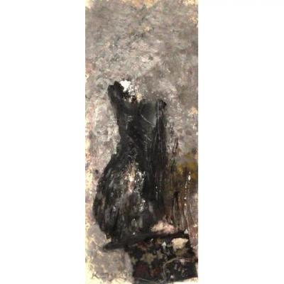 Ida Karskaya (1905-1990) Abstract Composition 1978 Mixed Media