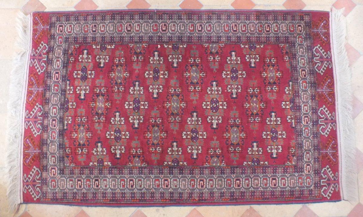 Tapis Boukhara Youmout Laine 185 X 115 Cm