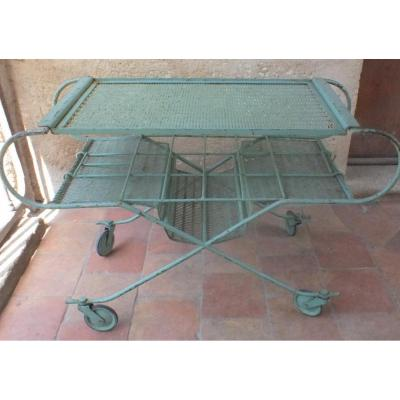 Table Roulante Desserte Metal Mategot