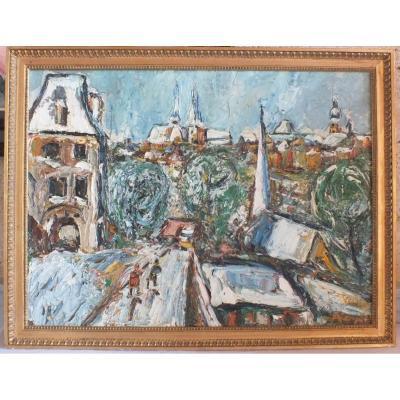 Raya Sorkine Peinture Tableau Huile Sur Toile