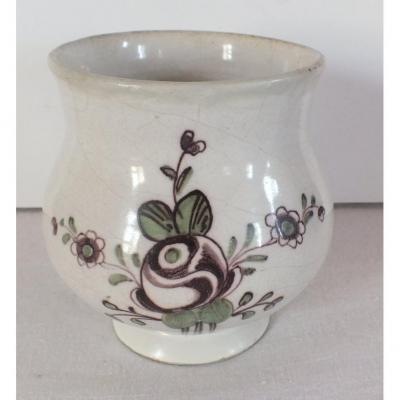 Pot Faience Samadet Epoque 18 / 19th