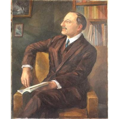 Portrait Cubiste André Léveillé
