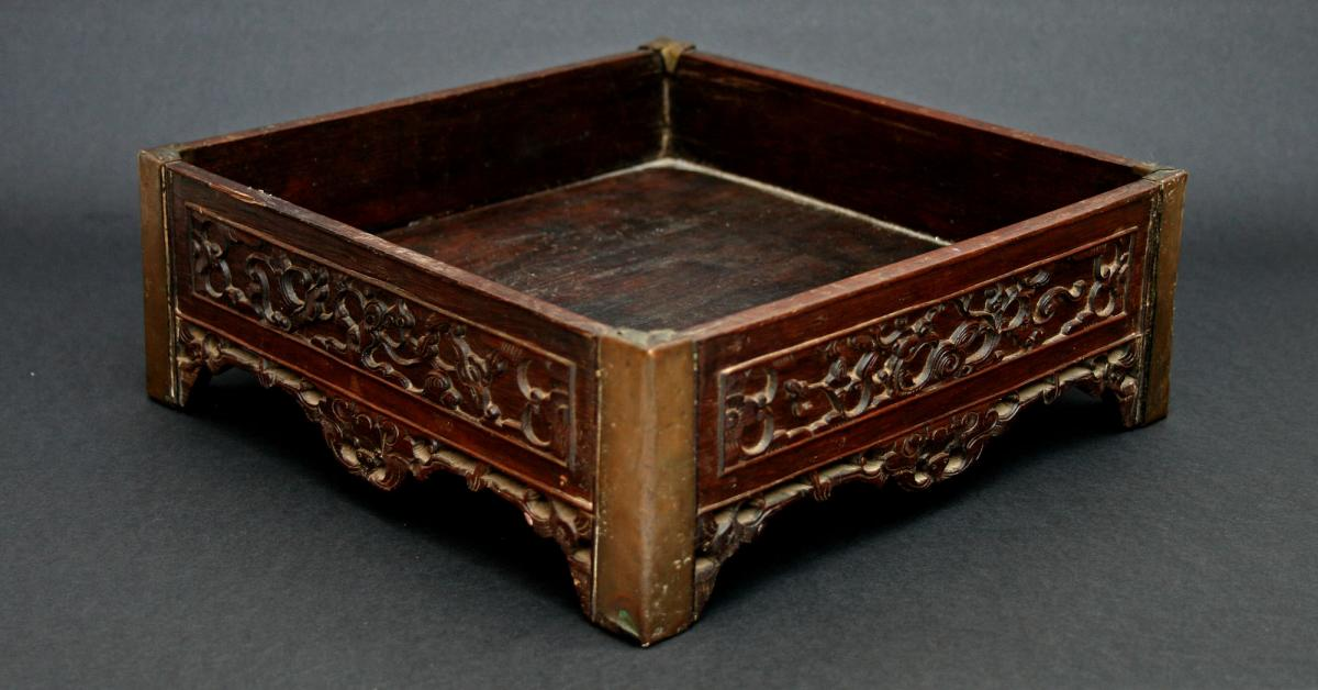 Ancien Table Opium Qing Chine