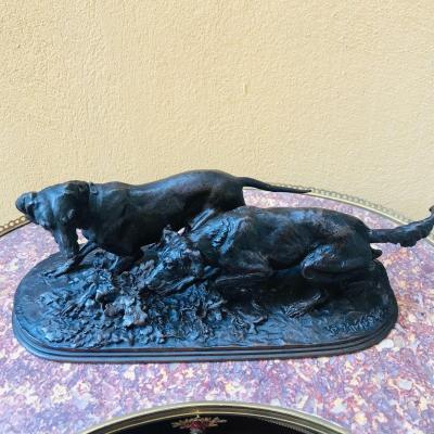 Bronze Animalier De Pierre Jules Mène