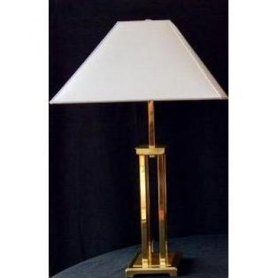 Grande Lampe à poser Laiton