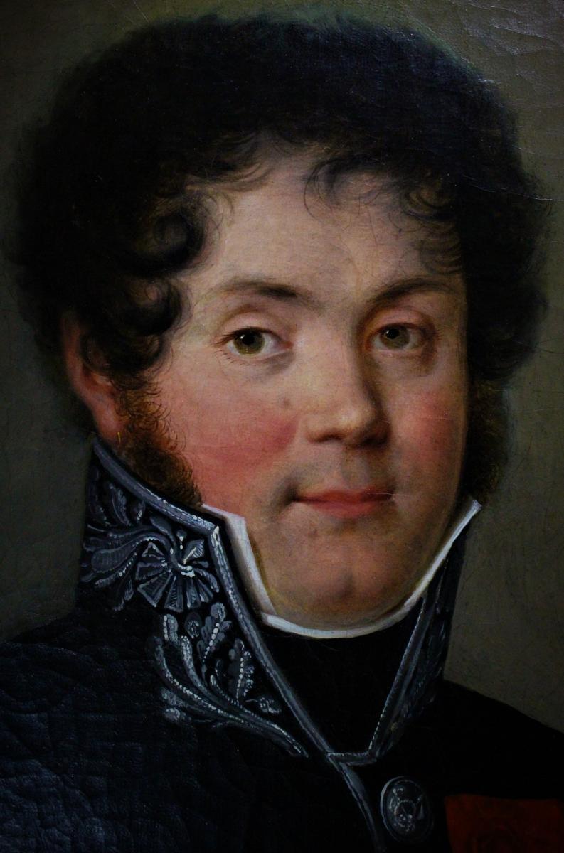 Portrait d'Homme en uniforme Empire