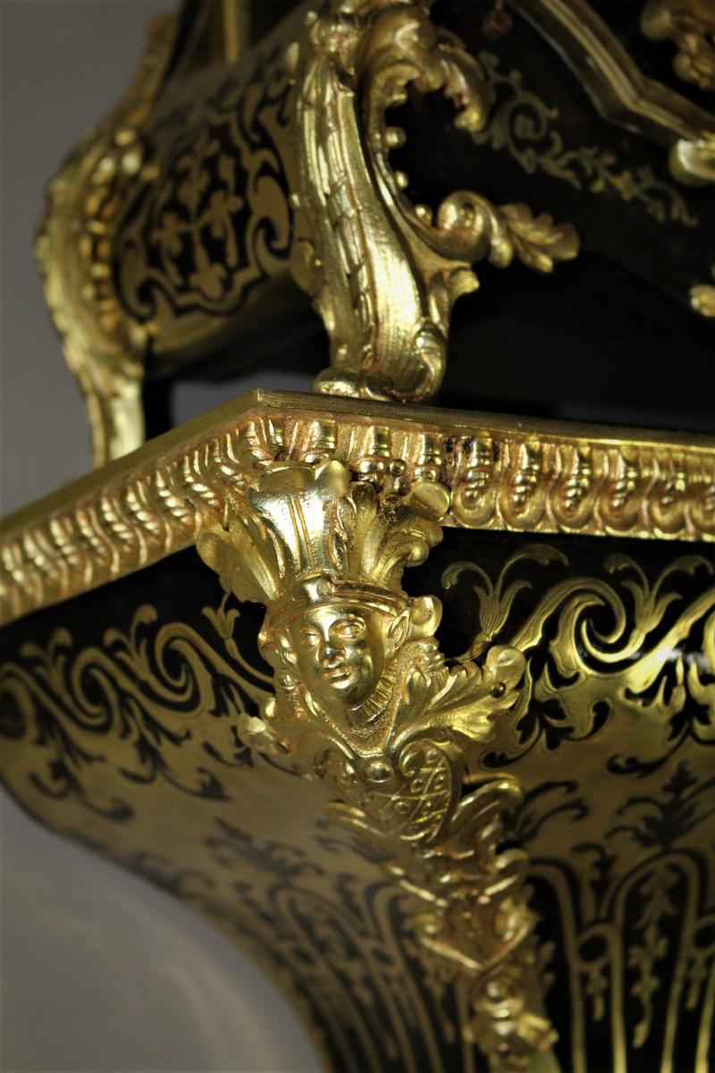 Cartel D'alcôve écaille époque Louis XV