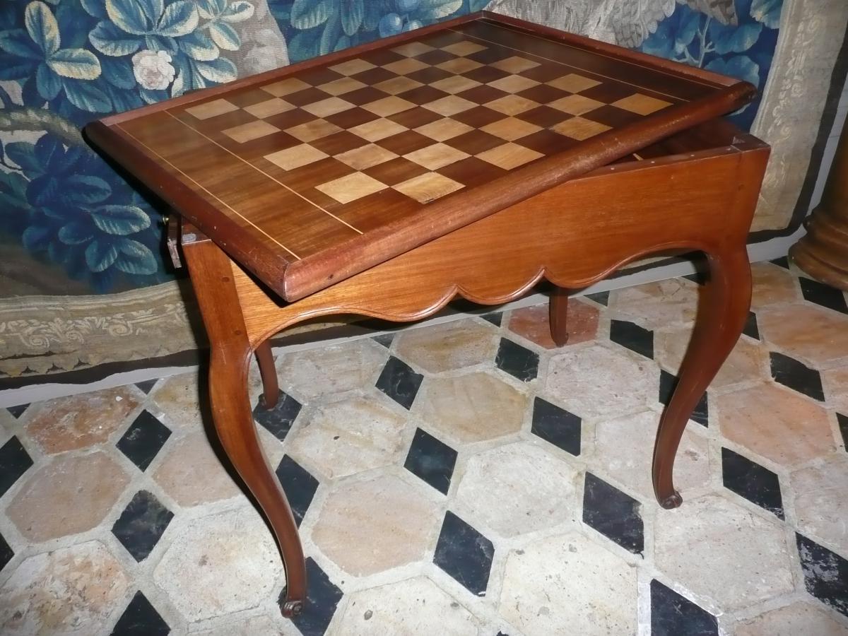 Table à Jeu Louis XV