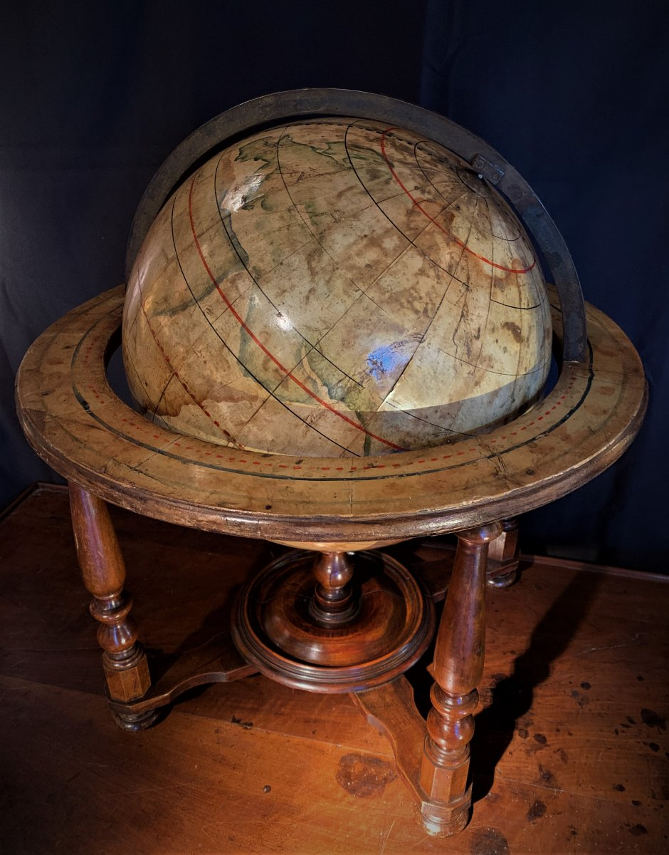 Globe Terrestre De Table