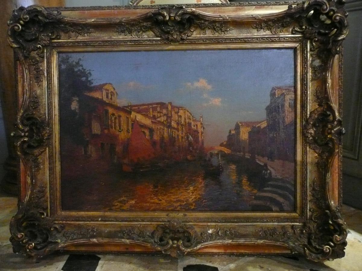 Canaux De Venise A.Duprat