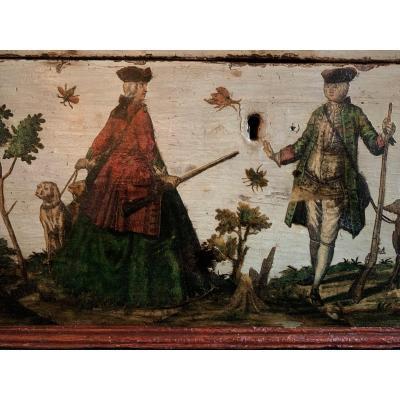Coffret En Arte Povera XVIIIème