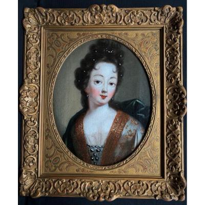 Portrait De Mademoiselle De Nantes  VIIIème