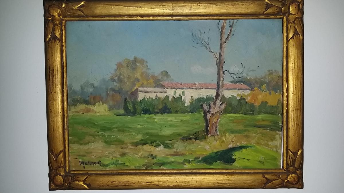 Maurice MOLINETTI (1894-1950) ÉCOLE PROVENCALE  ARLES