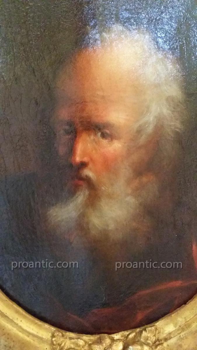 Christian Wilhelm Ernst Dietrich Awarded XVIIIth Portrait