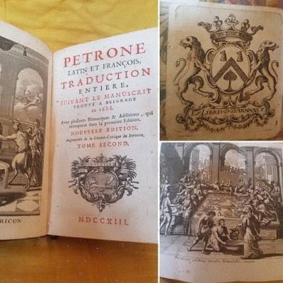 PETRONE LE SATYRICON 1713 COMPLET EN 2 TOMES