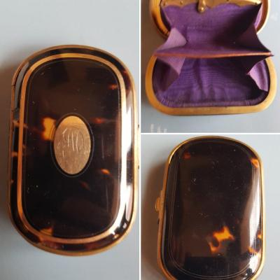 Napoleon III Scale And Gold Coin Purse