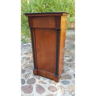 Bedside Night Table Small Directory Period Late XVIIIth