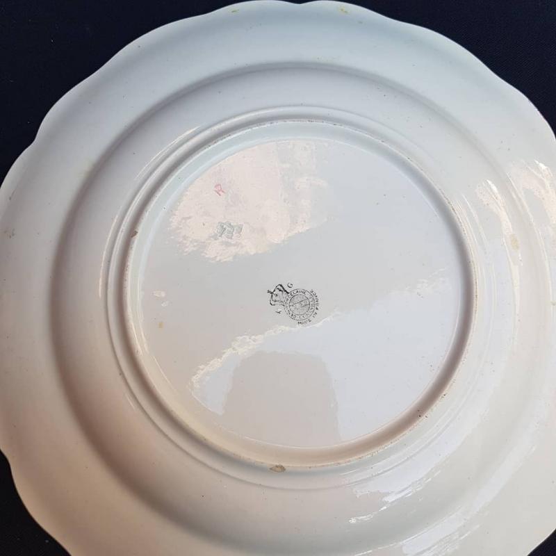LunÉville Earthenware Service Light Plates Shaped Pieces Plattery-photo-3