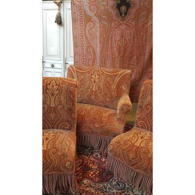 Living Room Sofa Seats Napoleon III BergÈres Period