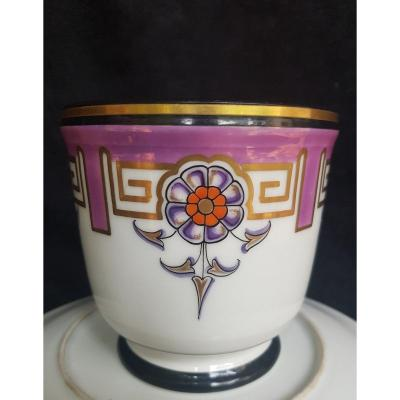 Little Freshener Or Porcelain Cache-pot From Paris Napoleon III