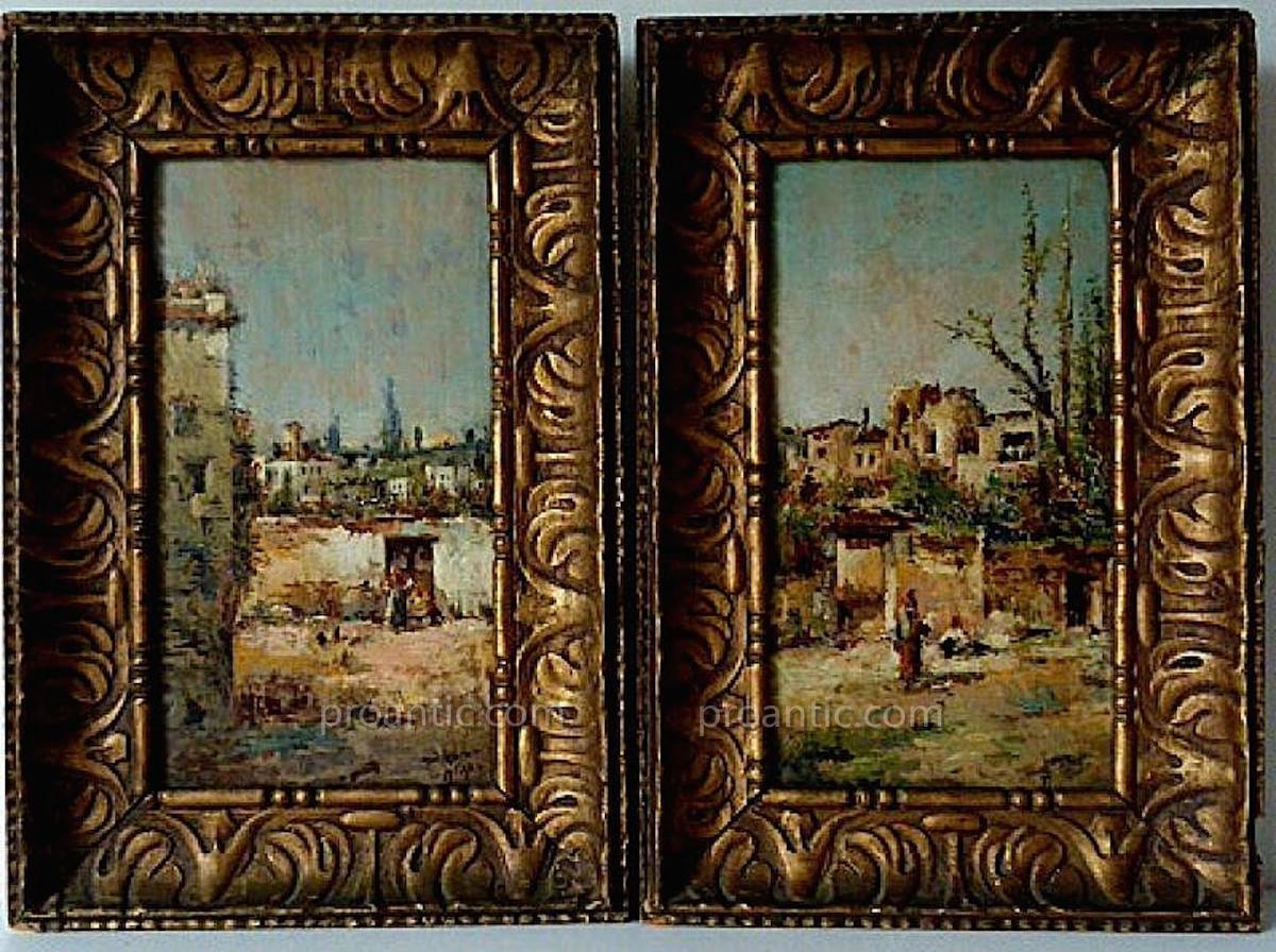 Orientaliste Impressionniste Algerie Tunisie Maroc Signé à Identifier XIX XX RT10