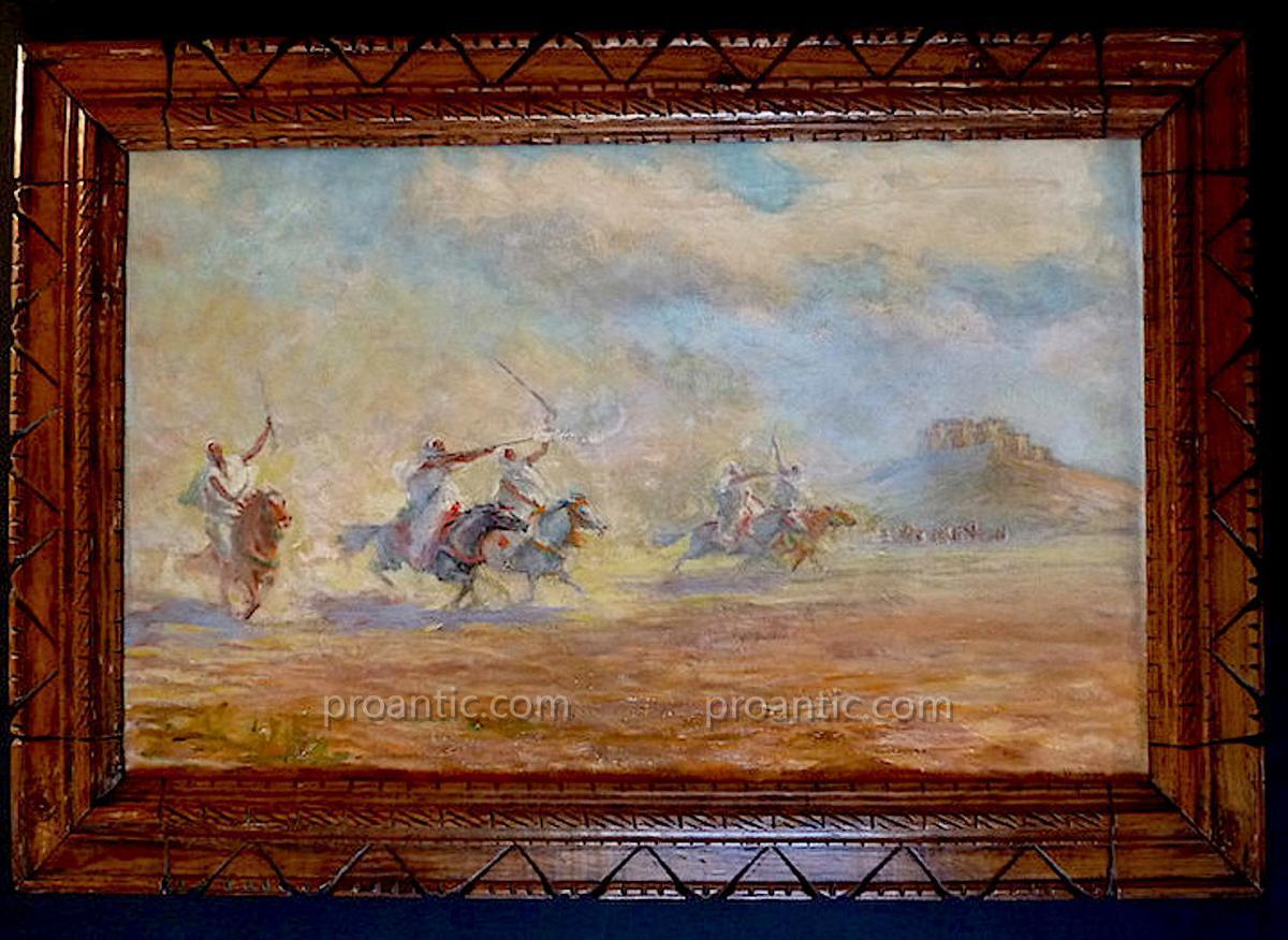 H The Orientalist Mayor Fantasia Morocco Cavaliers XX