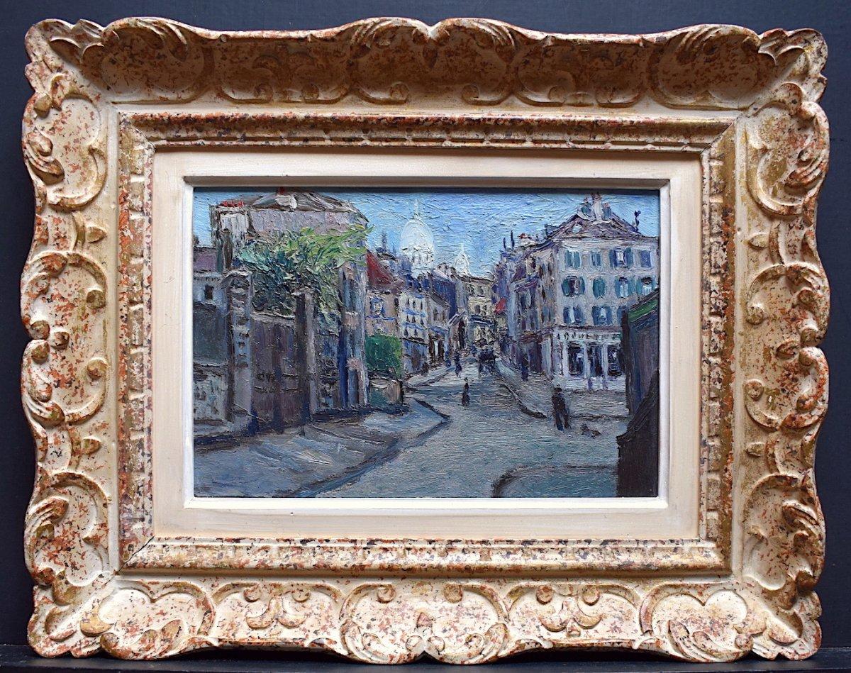Paris School Montmartre District Sacré Coeur Montparnasse Impressionist Frame XX