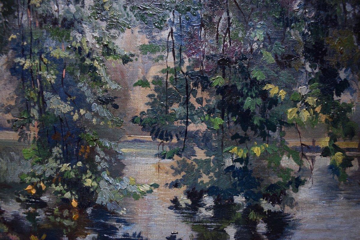 Impressionist Landscape River XIX Rt228-photo-2