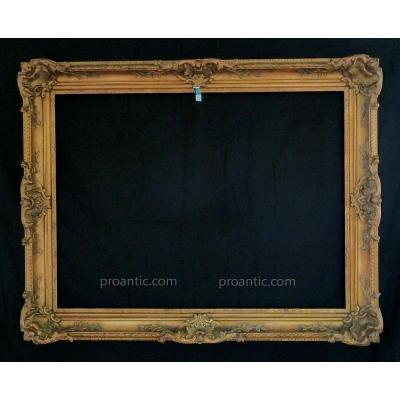 Cadre XIX Rocaille 106 X 80 cm Frame Ref C433