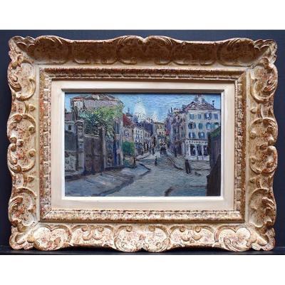 Ecole de Paris Quartier Montmartre Sacré Cœur Cadre Montparnasse Impressionniste XX