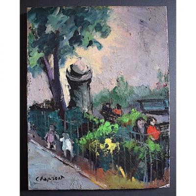 Le Kiosque Paris Geneviève Chapront Fauve Impressionniste XX RT278