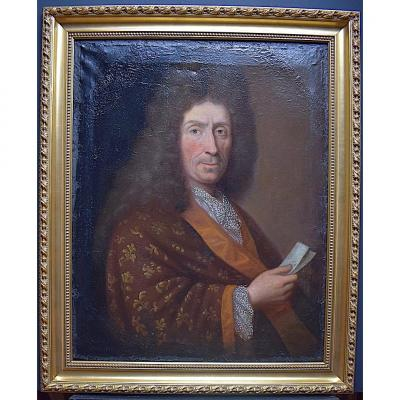 Portrait Of A Man XVII Under The Reign Of Louis XIV Rt369