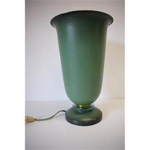 Lampe Cornet époque Art Déco à éclairage Indirect en Métal et Verre Autour De 1925 - 1940